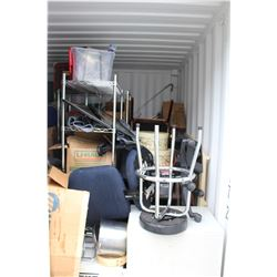 CONTENTS OF A 10FT BIG STEEL BOX UNIT # BSBU116117212G1 **$200 DEPOSIT MUST BE MADE UPON PURCHASE
