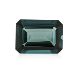 41.39 ctw. Natural Emerald Cut Blue Topaz