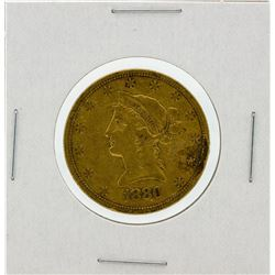 1880-S $10 VF Liberty Head Eagle Gold Coin