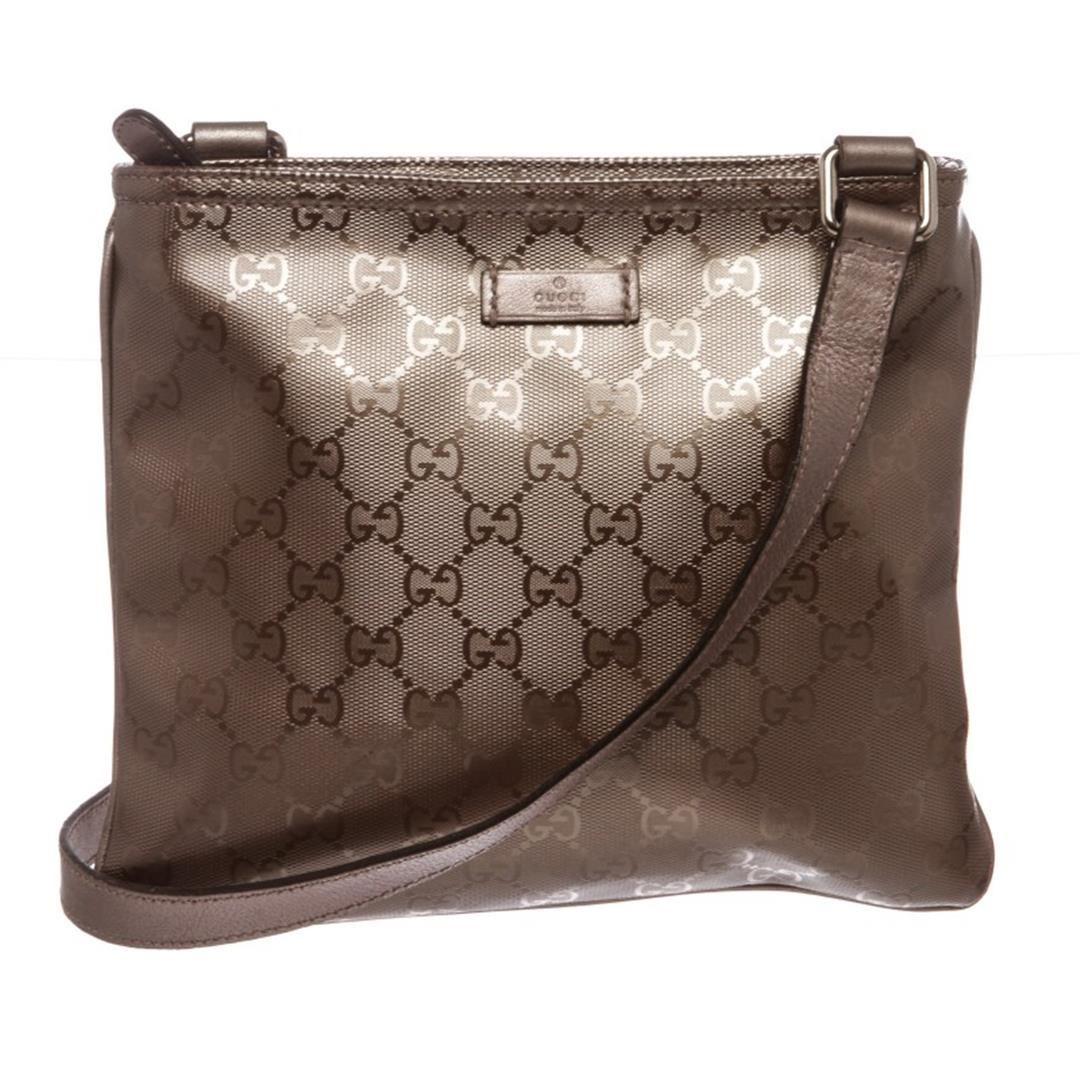 83542024029 Image 1   Gucci Mauve Monogram Coated Canvas Imprime Crossbody Bag ...