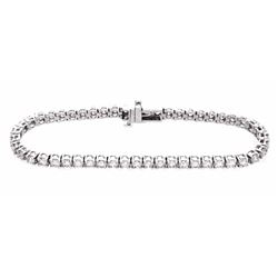 14KT White Gold 5.00ctw Diamond Tennis Bracelet