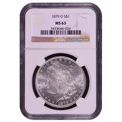 1879-O $1 Morgan Silver Dollar Coin NGC MS63