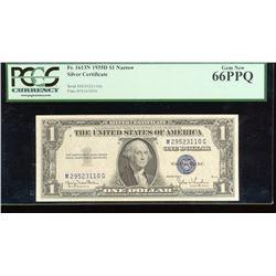 1935D $1 Silver Certificate PCGS 66PPQ
