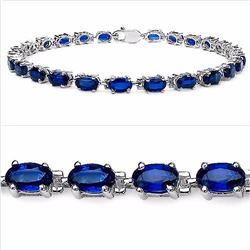 Sterling Silver Kyanite Bracelet