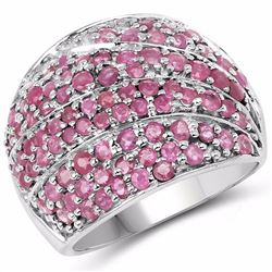 Sterling Silver Thai Ruby Ring