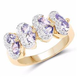 Sterling Silver Tanzanite Ring