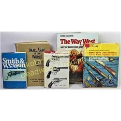 Collection of 5 gun reference books Est. 25-50