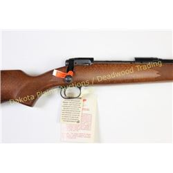 "Savage model III 25-06 Rem SN F367575 bolt action rifle with 22"" barrel and checkered walnut stock."
