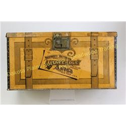Glycerole tin and cocoa wooden crate great Restorff and Bettmawn Glycerole for shoes tin litho box,