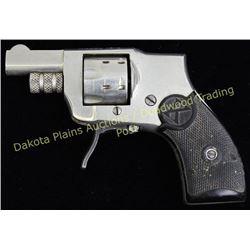 """Kobe model 1910 .22 cal NVSN baby hammerless folding trigger revolver nickel finish 1 1/2"""" barrel an"""