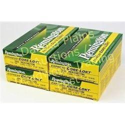 Four full boxes Remington .280 ammunition. Est. 50-100