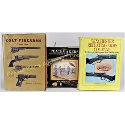 Collection of 3 gun reference books Est. 50-100