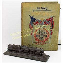Collection of 2 includes 1897 The Story of American Heroism As Told By the Medal Winners and Roll of