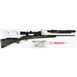 "Weatherby Vanguard 25-06 Remington SN VS280331 bolt action rifle, 24"" barrel, synthetic stock, Banne"