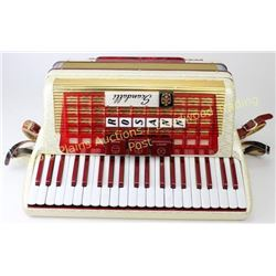 "Vintage Italian Scandalli Rosann Accordion 16"" keyboard, 1950's-1960's, one owner, in perfect condit"