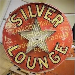 Doublesided outdoor neon sign from the Silver Star Bar and Lounge, Lead, S.D. built about 1964 by No