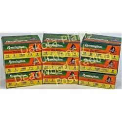 9 full boxes Remington 12 gauge 3 inch ammunition Est. 50-125