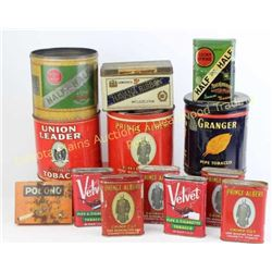 Large collection of tobacco tins and boxes Est. 25-100