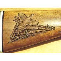 Custom Firearm Woodcarving from Lance Larson Studio