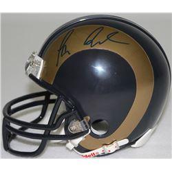 Tavon Austin Signed Rams Mini Helmet (Radtke COA)