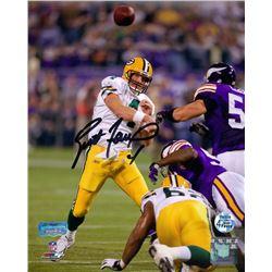 Brett Favre Signed Packers 8x10 Photo (Radtke COA)