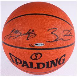 LeBron James  Dwyane Wade Signed LE Official NBA Game Ball (UDA COA)
