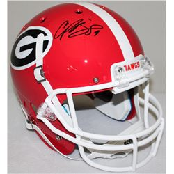 Champ Bailey Signed Georgia Full-Size Helmet (JSA COA)