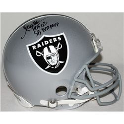 "Marcus Allen Signed Raiders Full-Size Authentic Pro-Line Helmet Inscribed ""HOF 03""  ""SB XVIII MVP"" L"
