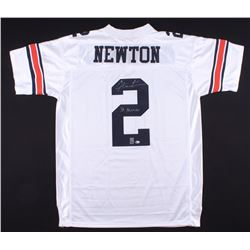 "Cam Newton Signed Auburn Jersey Inscribed ""10 Heisman"" (Radtke COA  Newton Hologram)"