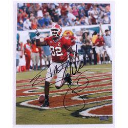 Fred Gibson Signed Georgia 11x14 Photo (Radtke Hologram)