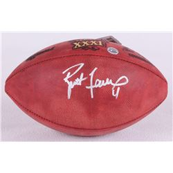 Brett Favre Signed Super Bowl XXXI NFL Official Game Ball (Favre COA)