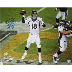 Peyton Manning Signed Broncos Super Bowl 50 16x20 Photo (Steiner COA  Fanatics Hologram)