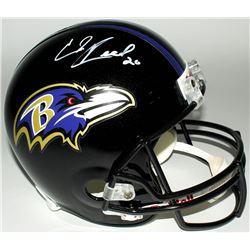Ed Reed Signed Ravens Full-Size Helmet (JSA COA)