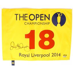 Rory McIlroy Signed LE 2014 Open Pin Flag (UDA COA)