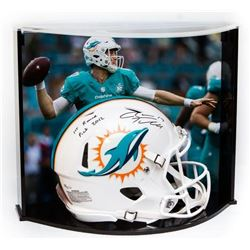 Ryan Tannehill Signed LE Dolphins Full-Size Authentic Pro-Line Speed Helmet Inscribed  1st Round Pic