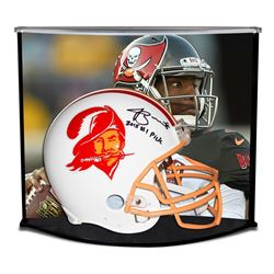 Jameis Winston Signed LE Buccaneers Full-Size Authentic Pro-Line Throwback Helmet Inscribed  2015 #1