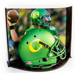 Marcus Mariota Signed LE Oregon Full-Size Authentic Pro-Line Helmet Inscribed  Oregon Record: 13,089