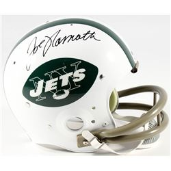 Joe Namath Signed Jets Full-Size Suspension Helmet  (Namath Hologram)