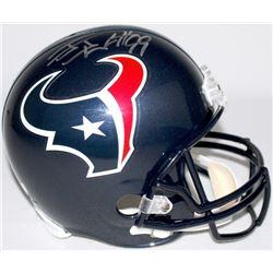J. J. Watt Signed Texans Full-Size Helmet (Radtke COA)