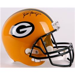 Brett Favre Signed Packers Full-Size Replica Helmet (Favre Hologram  Schwartz COA)