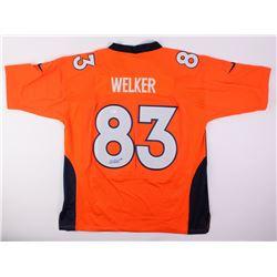 Wes Welker Signed Broncos Jersey (JSA COA)