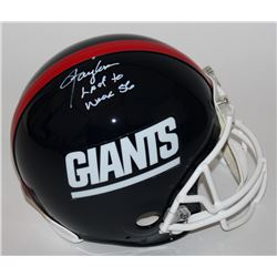 "Lawrence Taylor Signed Giants Full-Size Authentic Proline Helmet Inscribed ""Last To Wear 56"" (Radtke"