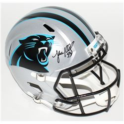 Luke Kuechly Signed Panthers Full-Size Speed Helmet (JSA COA)