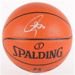 Stephen Curry Signed NBA Game Ball Series Basketball (Fanatics Hologram)