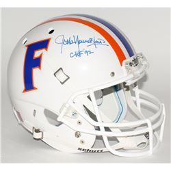 "Jack Youngblood Signed Florida Gators Full-Size Helmet Inscribed ""CHF '92"" (JSA COA)"