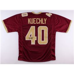 Luke Kuechly Signed Boston College Eagles Jersey (JSA COA)