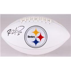 Ryan Shazier Signed Steelers Logo Football (JSA COA)