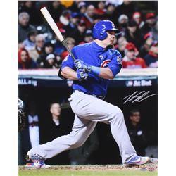 Kyle Schwarber Signed Cubs 16x20 Photo (MLB  Schwartz COA)