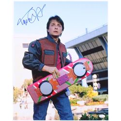 "Michael J. Fox Signed ""Back to the Future"" 16x20 Photo (JSA COA)"