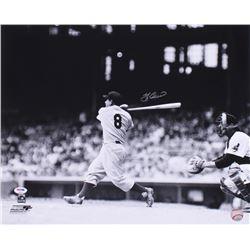 Yogi Berra Signed Yankees 16x20 Photo (PSA COA)